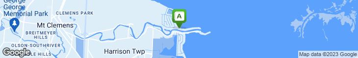 Map of Crews Inn