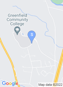Greenfield Community College map