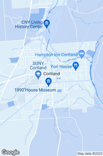 Map of Cortland