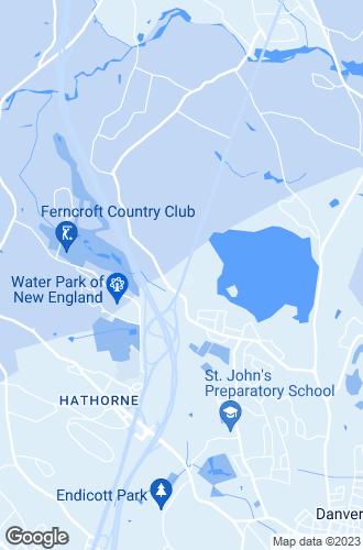 Map of Danvers