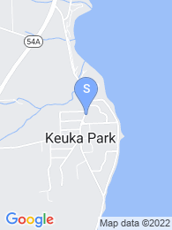 Keuka College map