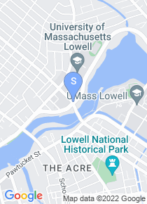 UMass Lowell map
