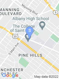 College of Saint Rose map