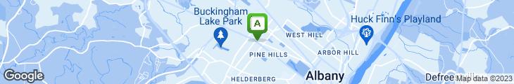 Map of Cafe Madison