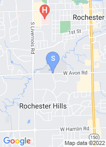 Rochester College map