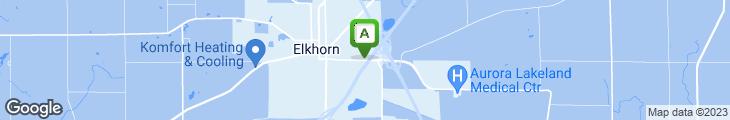 Map of Zandi's Restaurant