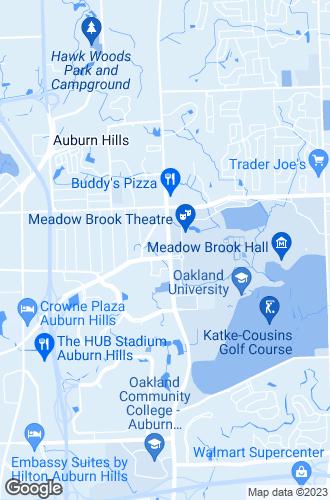 Map of Auburn Hills
