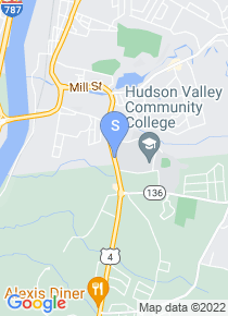 Hudson Valley Community College map