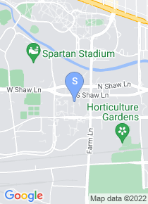 Michigan State University map