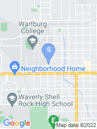 Wartburg College map