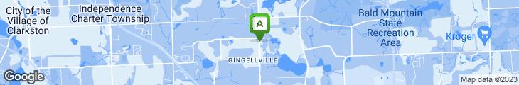 Map of Oscar's Restaurant & Entrtn