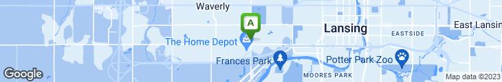 Map of Spud's Family Restaurant