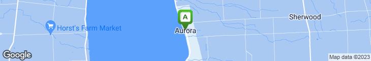 Map of Aurora Inn