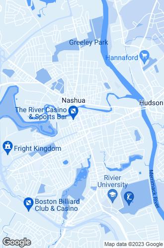 Map of Nashua