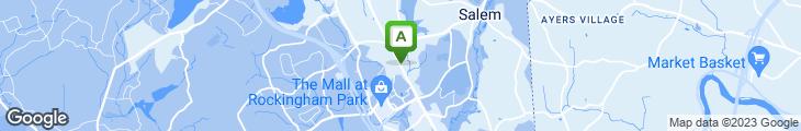 Map of Weathervane Seafood Restaurant