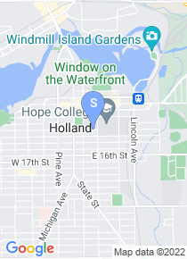 Hope College map