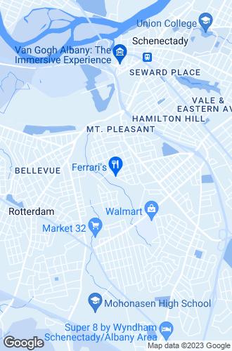 Map of Schenectady