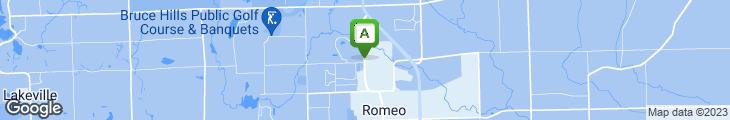 Map of Papa Romano's