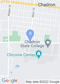 Chadron State College map