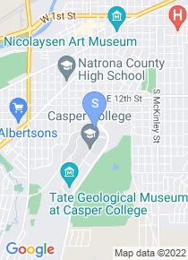 Casper College map