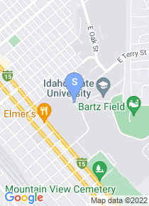 Idaho State University map