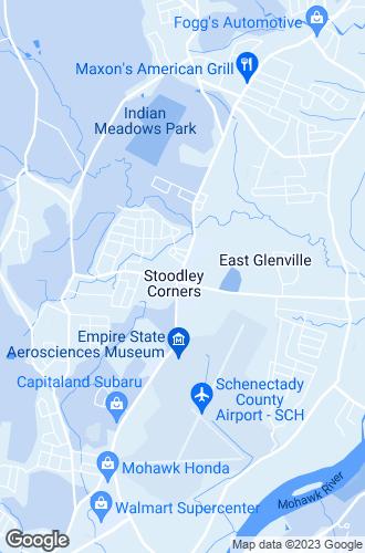 Map of Glenville