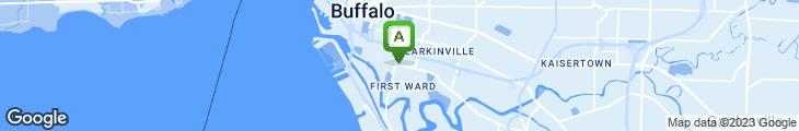 Map of Avenue Pizza & Submarine