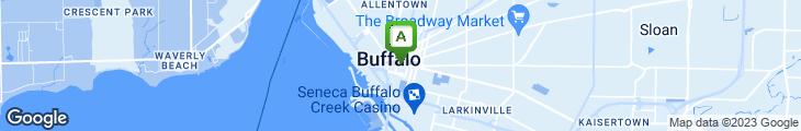 Map of Gino & Joe's Pizzeria Restaurant