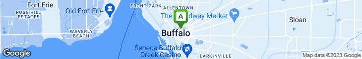 Map of E. B. Green's Steakhouse