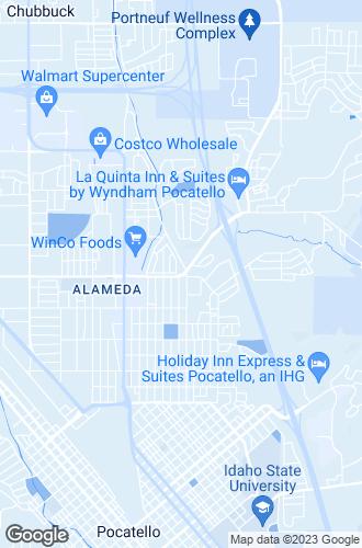 Map of Pocatello