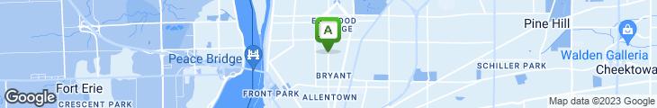 Map of Elwood Lounge