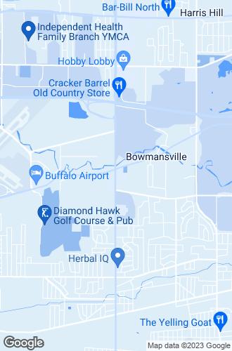 Map of Depew