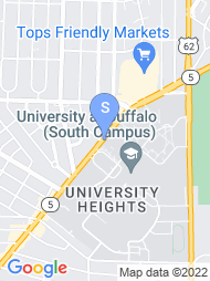 University at Buffalo map