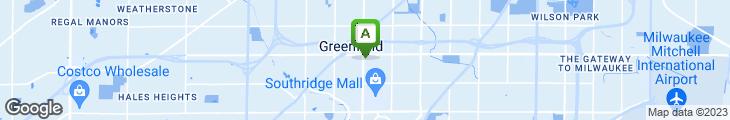 Map of Olive Garden Italian Restaurant