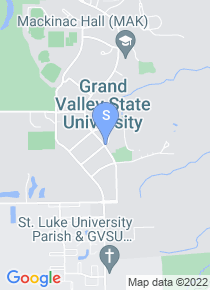Grand Valley State University map