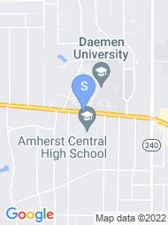 Daemen College map