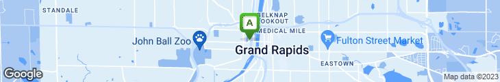 Map of Big Boy Restaurant