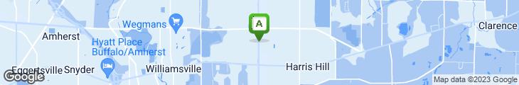 Map of Mrs. Fields