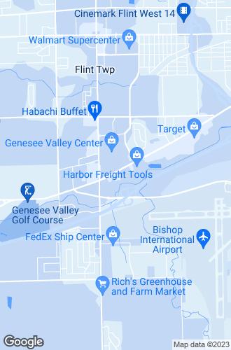 Map of Flint