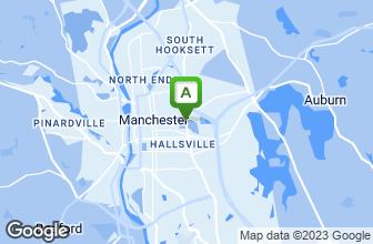 Map of The Derryfield Restaurant & Lounge