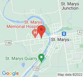 Google Map of 425+Queen+Street+West+Box+2859%2CSt+Marys%2COntario+N4X+1A5