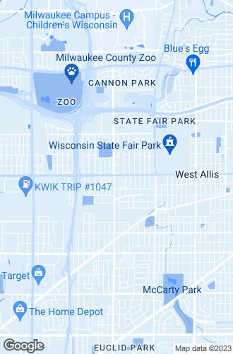 Map of West Allis