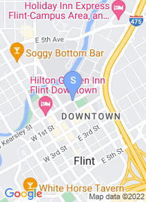 University of Michigan Flint map
