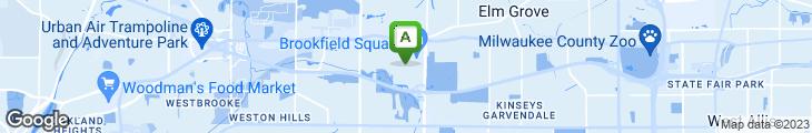 Map of Cooper's Hawk