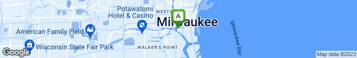 Map of Riverwalk Bistro
