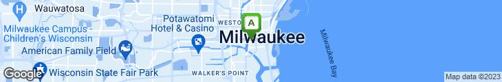 Map of Third Ward Caffe