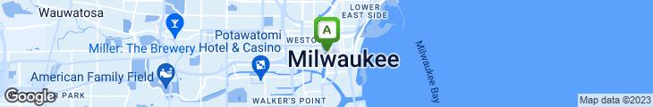 Map of Capriotti's Sandwich Shop