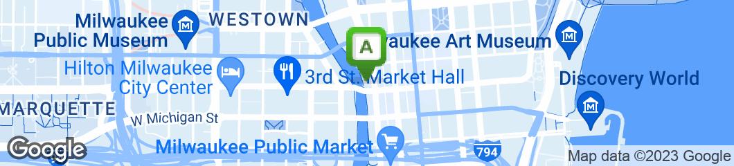 Map of John Hawk's Pub
