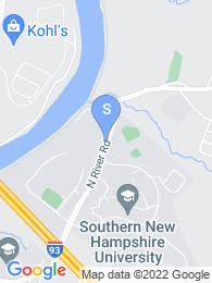 Southern New Hampshire University map