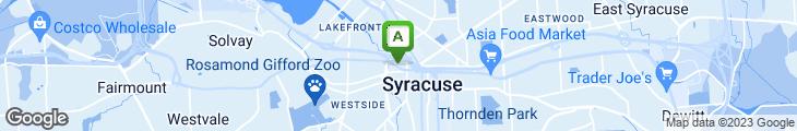 Map of Dinosaur BBQ